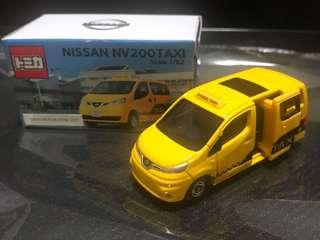 Tomica Nissan NV200 Taxi (Tokyo Motor Show 2017 Exclusive)