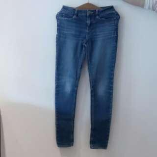 Skinny Denim Jeans女裝窄脚牛仔褲