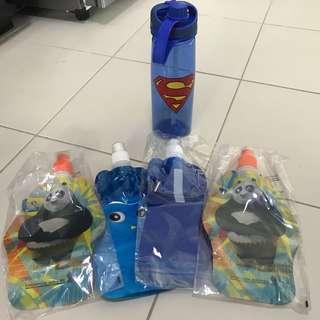 Water Bottles / Bags