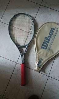 Wilson 網球拍(長27吋)新舊如圖