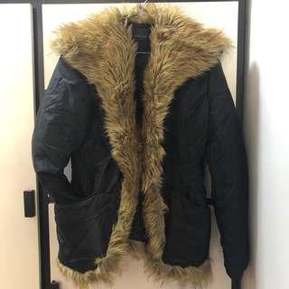 [全新]意大利製造 毛毛保暖褸 平放