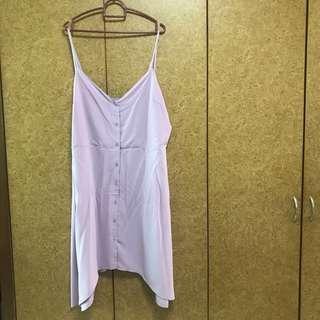 ASOS Purple Flare Dress