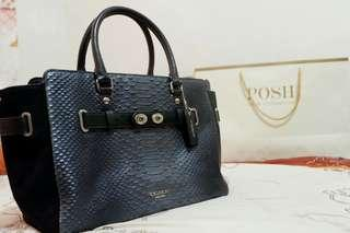 Coach Luxury Bag *Snakeskin Satchel Bag NWT*
