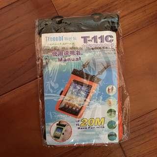 手機防水袋 橘色