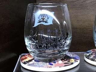 徵收 香港海賊王餐廳玻璃杯