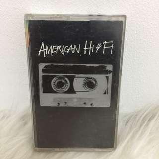 Kaset Cassette American hi-fi