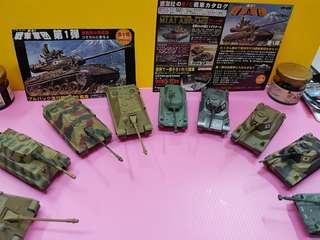 🚚 ( 盒 玩 ) 戰 車 軍 團 - 0 1 (迴力)