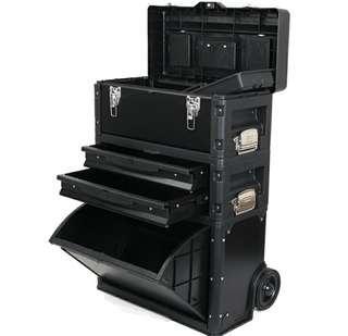 Camera gears carrier toolbox car repair box workshop trolley box