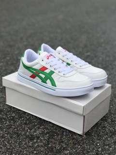 ASICS WHITE GREEN