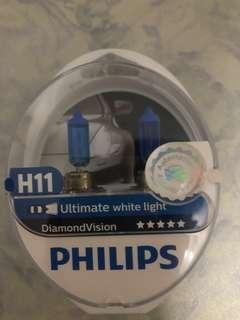 Philips Diamond Vision H11 bulbs for sale
