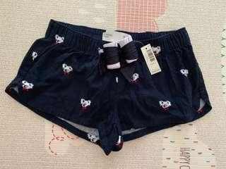 Abercrombie fitch gilly hicks pajamas shorts