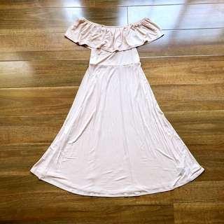 (Size XS-M) Sportsgirl Off the Shoulder Dress