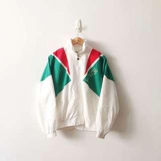 Fila Vintage Rare Full Zip Windbreaker Jacket