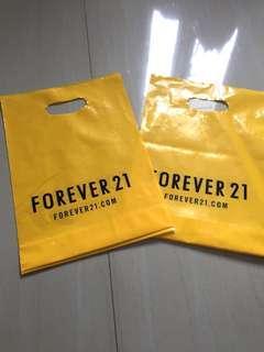Forever 21 Plastic Bag