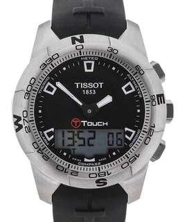 🚚 Tissot T-Touch II Titanium T047.420.47.057.00 Brand New with Tag Tissot T touch