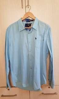 Light blue long sleeves