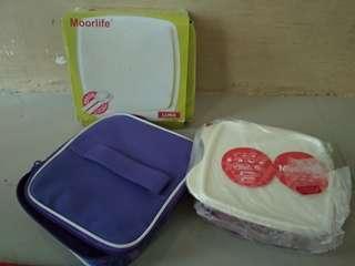 Luna kotak makan lunch box moorlife tupperware set