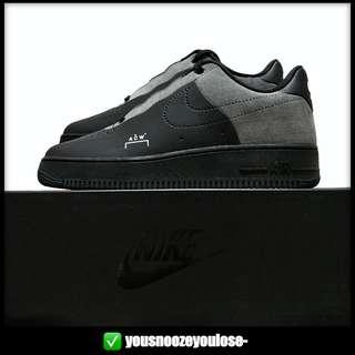 🚚 🌊INSTOCK🌊 NIKE X A COLD WALL ACW AIR FORCE 1 LOW BLACK