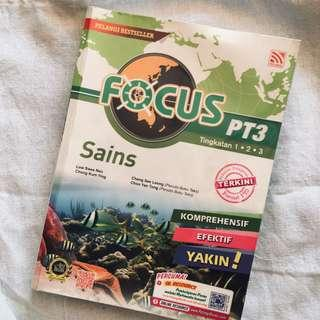 PT3 science reference book