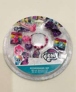 My little pony accessories set