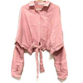 Morningsol Cropped Pink Top