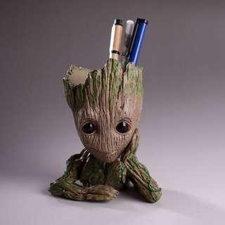 FREE SF GOTG Baby Groot Vinyl Figure Pen Holder/Flower Pot