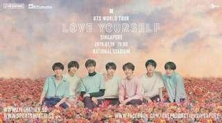 BTS LY TOUR CAT 1 TIX
