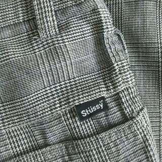 STUSSY Tartan Long Pants Original
