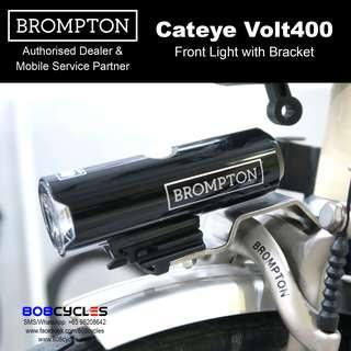 Brompton Cateye Volt400 Front Lamp with mounting bracket