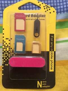Nano sim card adapter-any mobile phone and devices-$3