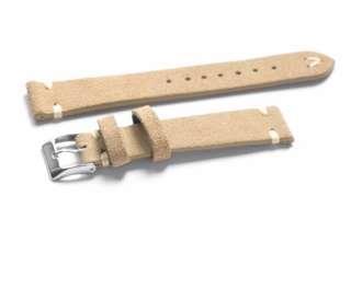 Kvarnsjo 20mm Khaki Suede Watch Strap