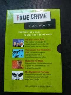 True Crime Portfolio ( 4 books)