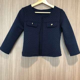 🚚 BN Navy Blue Cardigan