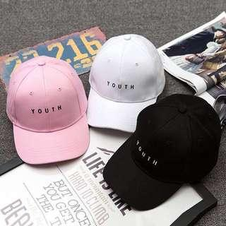🚚 INSTOCK Youth Cap BN Ulzzang Korean
