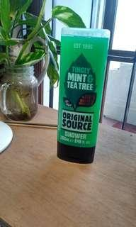 Original Source - Mint & Tea Tree Shower Gel BELUM DIPAKAI