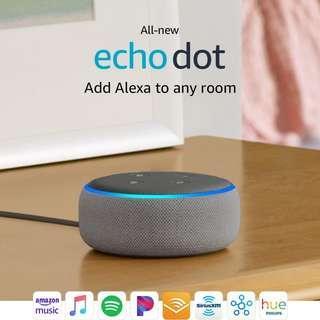 🚚 All-new Echo Dot (3rd Gen) - Smart speaker with Alexa