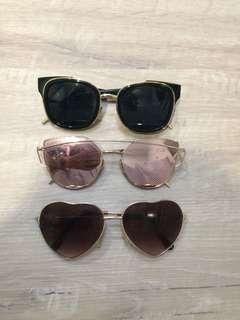 mixed sunglasses