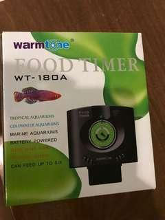 Food timer for fish