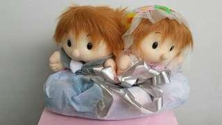 Stuffed Toy Wedding Couple