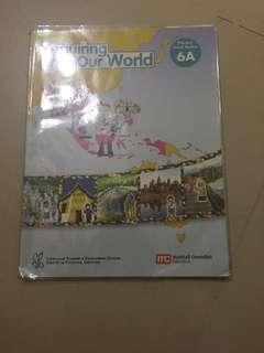Primary 6A Social Studies Textbook
