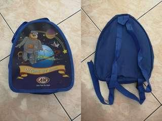 Blue Colour Kid Bag