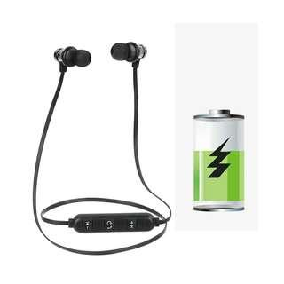 Magnetic attraction bluetooth earphone