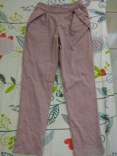 🚚 OL粉色長褲(9成新