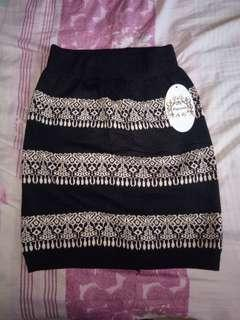 Bohemian Tulip Skirt Black
