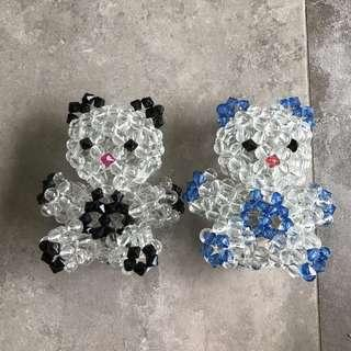 Beads bear display