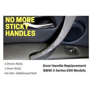 BMW 3 Series E90 E9X Sticky Door Handle Replacement $105