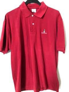 Hush puppies red shirt