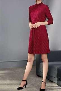 CNY red dress!