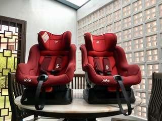 Joie Steadi Car Seat x2 unit