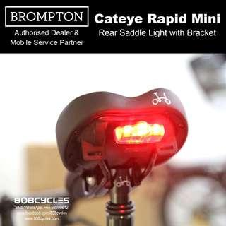 BROMPTON Cateye Rear Light with Saddle Mount
